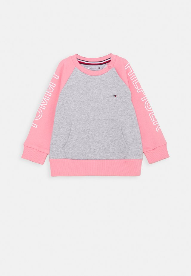 BABY COLORBLOCK - Sweatshirt - pink