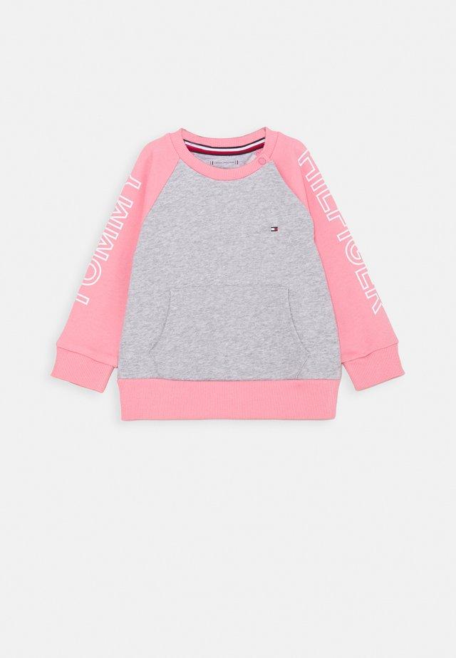 BABY COLORBLOCK - Sweatshirt - pink
