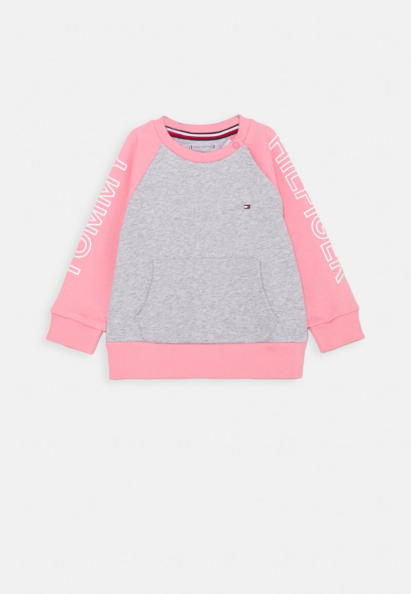 Tommy Hilfiger - BABY COLORBLOCK - Mikina - pink