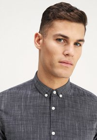 TOM TAILOR DENIM - STRUCTURE - Chemise - black iris blue - 3