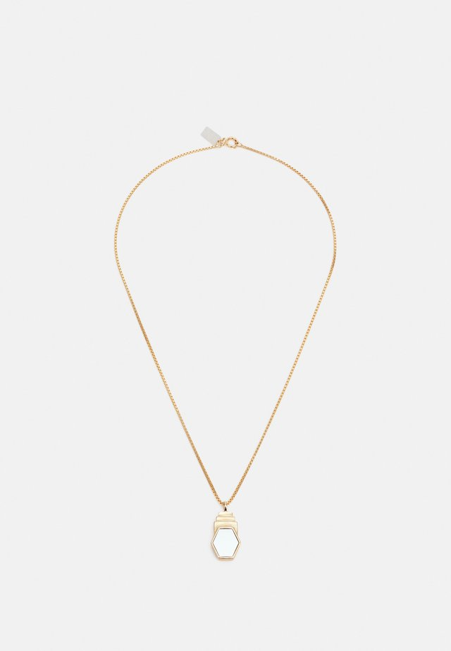 YOU ARE BEAUTIFUL NECKLACE - Collana - gold-coloured