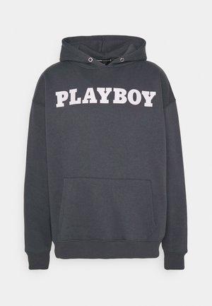 PLAYBOY X BIG BUNNY HOODIE UNISEX - Hoodie - charcoal