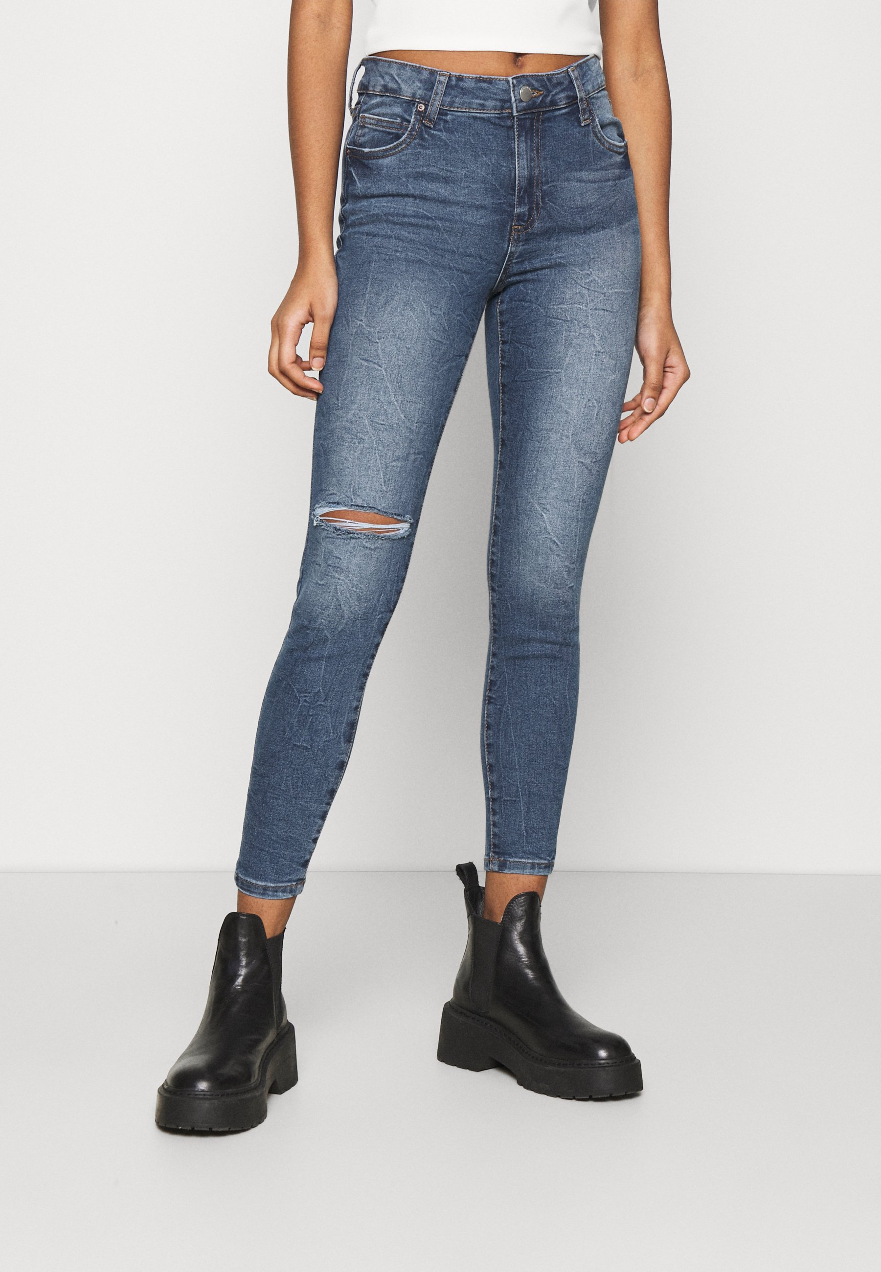 Women MID RISE CROPPED - Jeans Skinny Fit