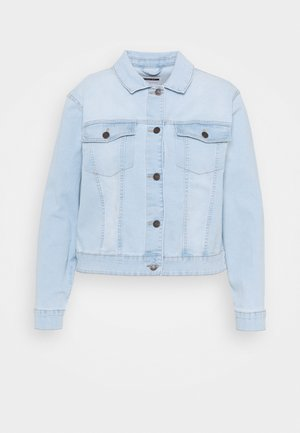 NMDEBRA JACKET - Spijkerjas - light blue denim