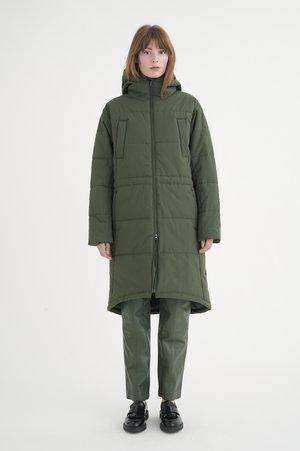 Winter coat - green olive