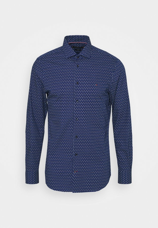 ORNAMENT PRINT SHIRT - Chemise - navy/blue/white