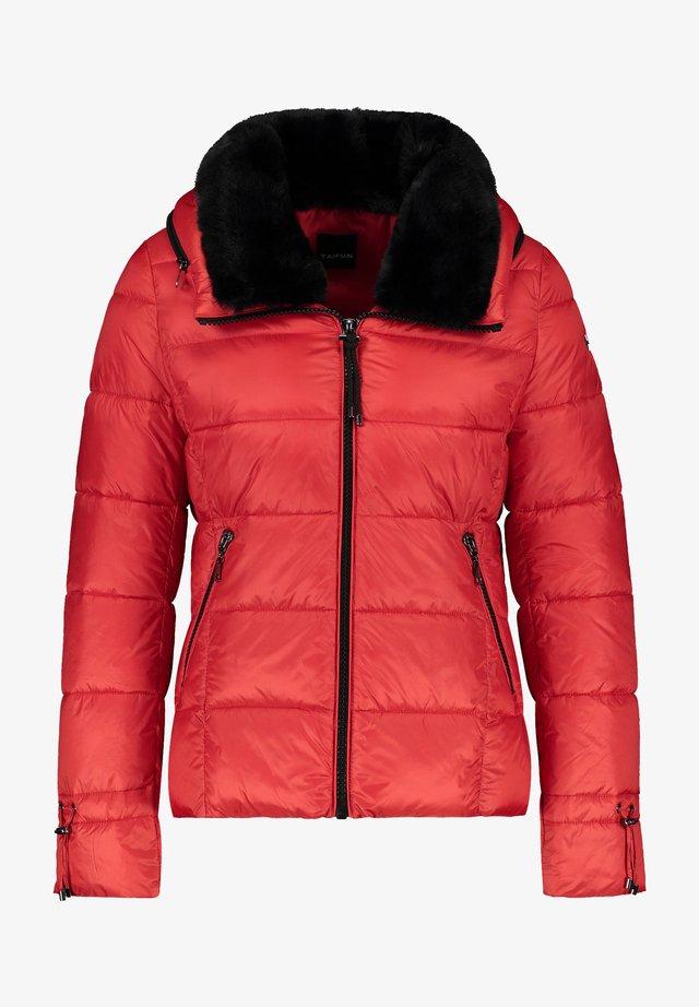 Winterjas - carmine red