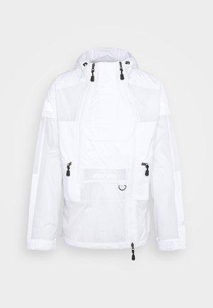 STEEP TECH LIGHT RAIN JACKET - Regenjacke / wasserabweisende Jacke - white