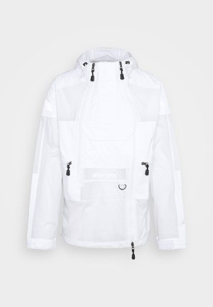STEEP TECH LIGHT RAIN JACKET - Waterproof jacket - white