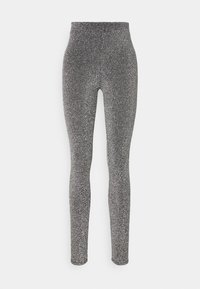ONLY - ONLDONNA - Leggings - Trousers - dark grey - 4