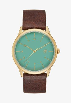RAWIYA  - Watch - green/brown