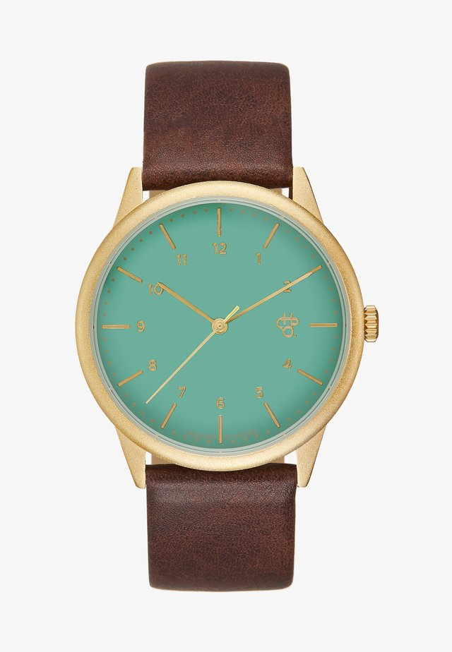 RAWIYA  - Montre - green/brown