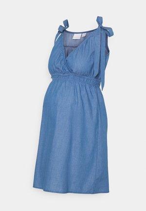 MLMILANA TESS WOVEN DRESS - Day dress - light blue