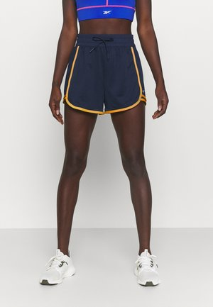 KNIT WORKOUT READY - Sports shorts - vector navy