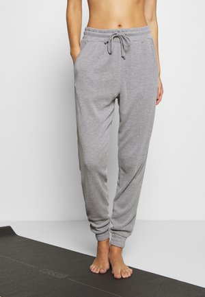 BACK INTO IT JOGGER - Tracksuit bottoms - grey