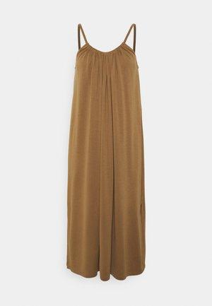 OBJWILMA SINGLET DRESS - Jersey dress - sepia