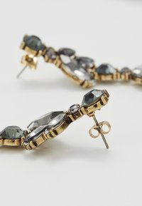 Pieces - PCJUDY EARRINGS KEY - Orecchini - gold-coloured/grey - 2