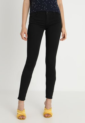 ONLCARMEN - Vaqueros pitillo - black denim