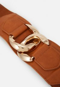 Pieces - PCALIZA WAIST BELT - Midjebelte - tan/gold-coloured - 3