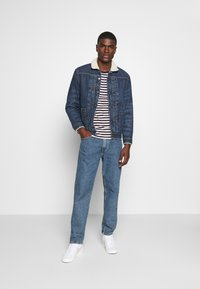Levi's® Made & Crafted - LMC TYPE TRUCKER - Jeansjacka - blue - 1