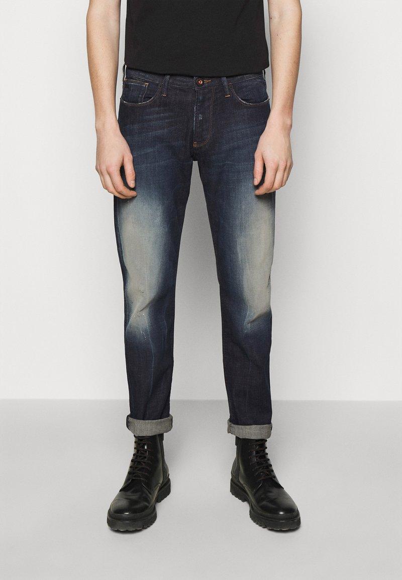 Emporio Armani - Slim fit -farkut - blue denim
