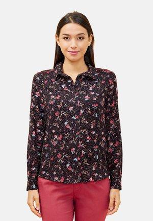 MANDALA - Button-down blouse - black