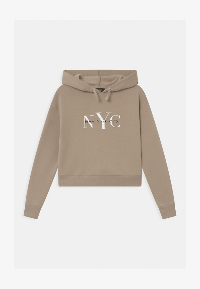 NYC MUSHROOM LOGO HOODY - Sweatshirt - light brown