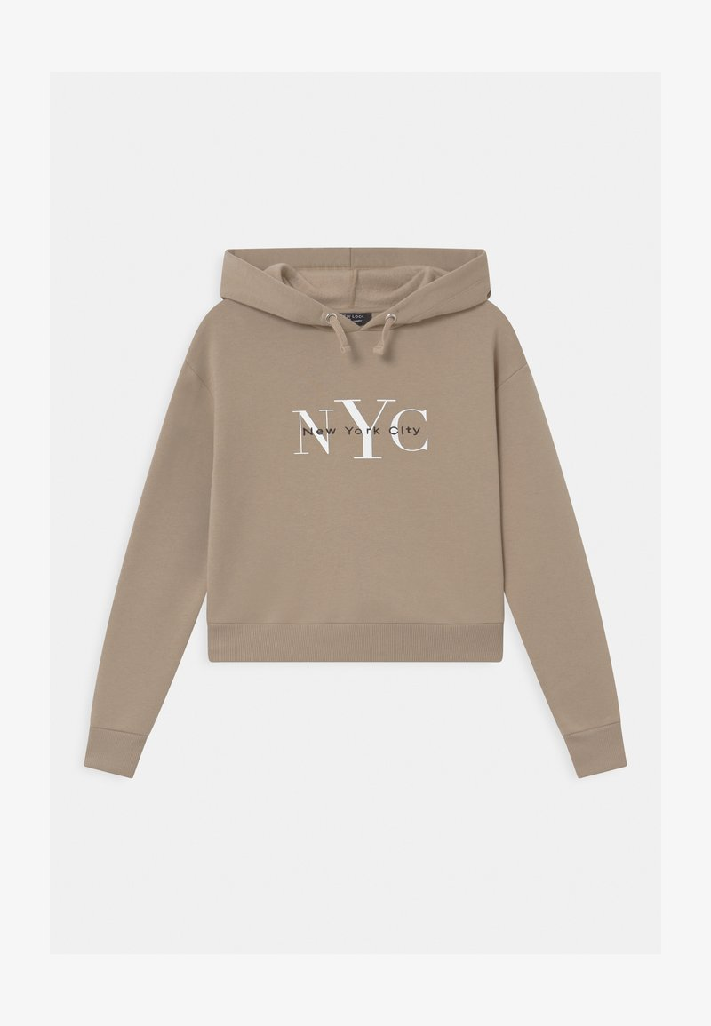 New Look 915 Generation - NYC MUSHROOM LOGO HOODY - Mikina - light brown