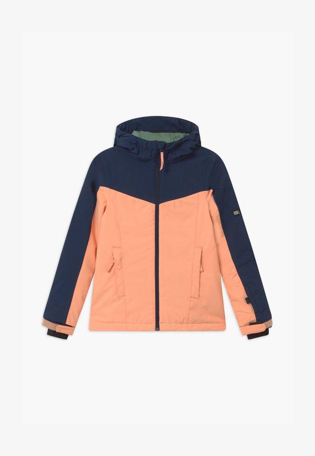 BLAZE JACKET UNISEX - Snowboard jacket - salmon