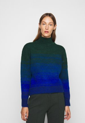 CROPPED OMBRE JUMPER - Jumper - emerald green