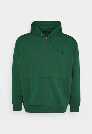 DOUBLE TECH - Zip-up hoodie - new forest