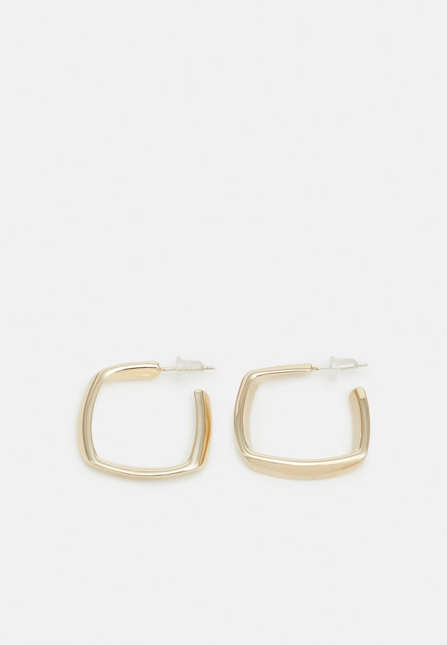 TEXTURED HOOPS - Boucles d'oreilles - gold-coloured