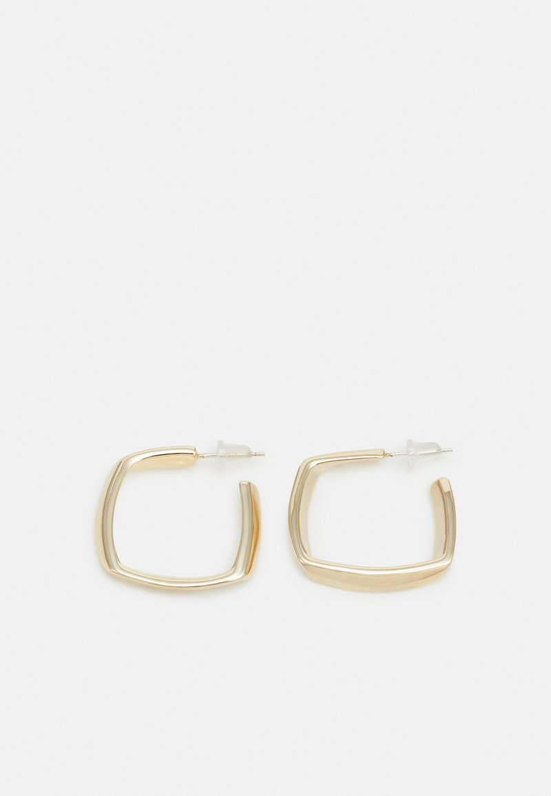 sweet deluxe - TEXTURED HOOPS - Orecchini - gold-coloured