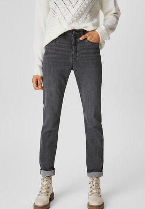Slim fit jeans - jeans grau