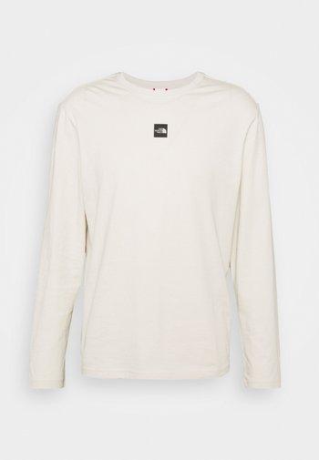 CENTRAL LOGO - Long sleeved top - vintage white