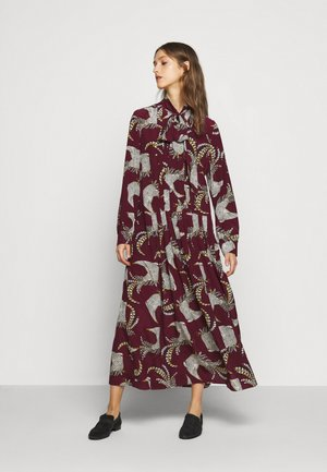 ZOLFO - Maxi šaty - pflaume
