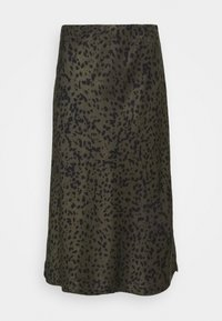 someday. - OLANDA LEO - A-line skirt - blended oliv - 1