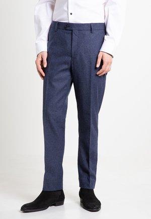 SLIM FIT - Pantaloni eleganti - blue