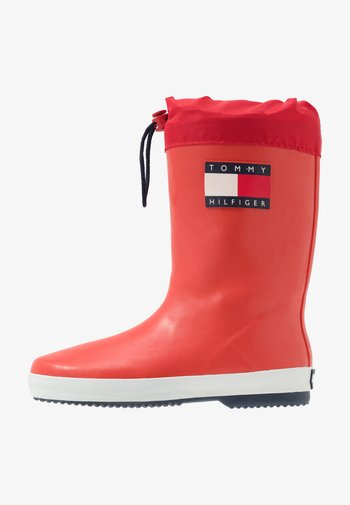 Wellies - red
