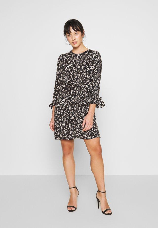 DITSY PRINT SWING DRESS - Vestito estivo - black/stone