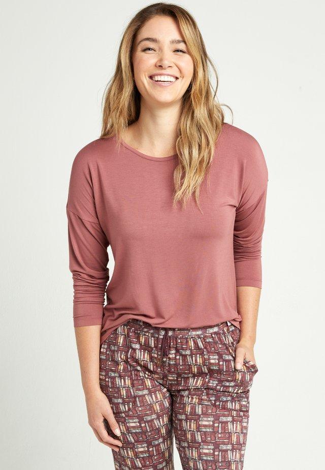 Pyjama top - roan rouge