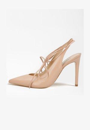 BRIOLA - High heeled sandals - beige