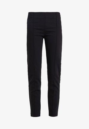 LYNN SIMONE PANT - Kalhoty - black