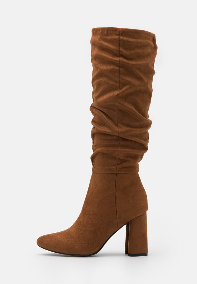 ONLBRODIE LIFE BOOT - Boots - cognac