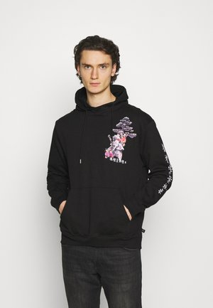 OUTCAST HOOD UNISEX - Sweat à capuche - black