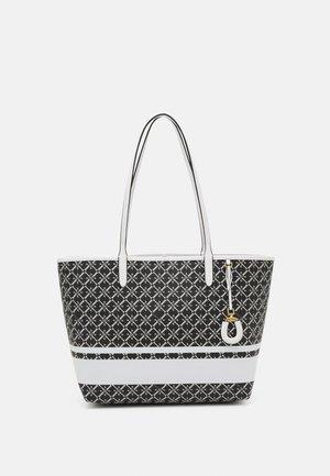 COLLINS TOTE MEDIUM - Shopping Bag - black/snow white
