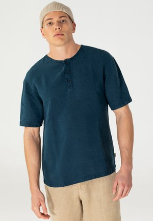 T-shirt basic - petrol blue
