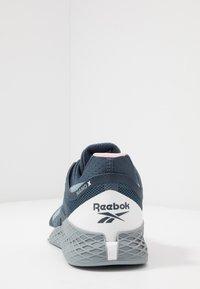 Reebok - NANO X - Trainings-/Fitnessschuh - metallic grey/indigo/white - 3