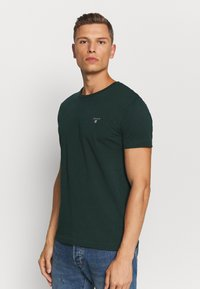 GANT - THE ORIGINAL - T-shirt - bas - tartan green - 0