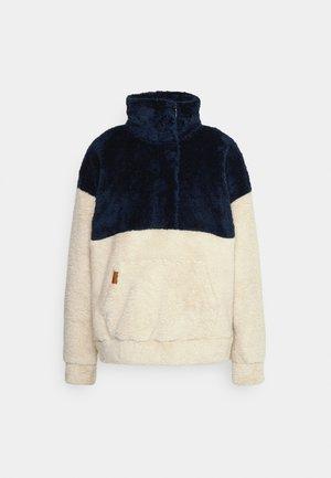 COASTAL ROUTE - Fleece jumper - mood indigo